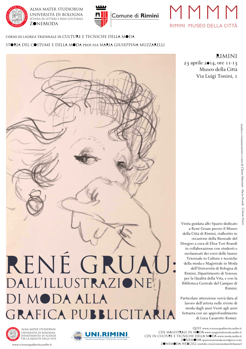 René Gruau: dall'illustrazione di moda alla grafica ...