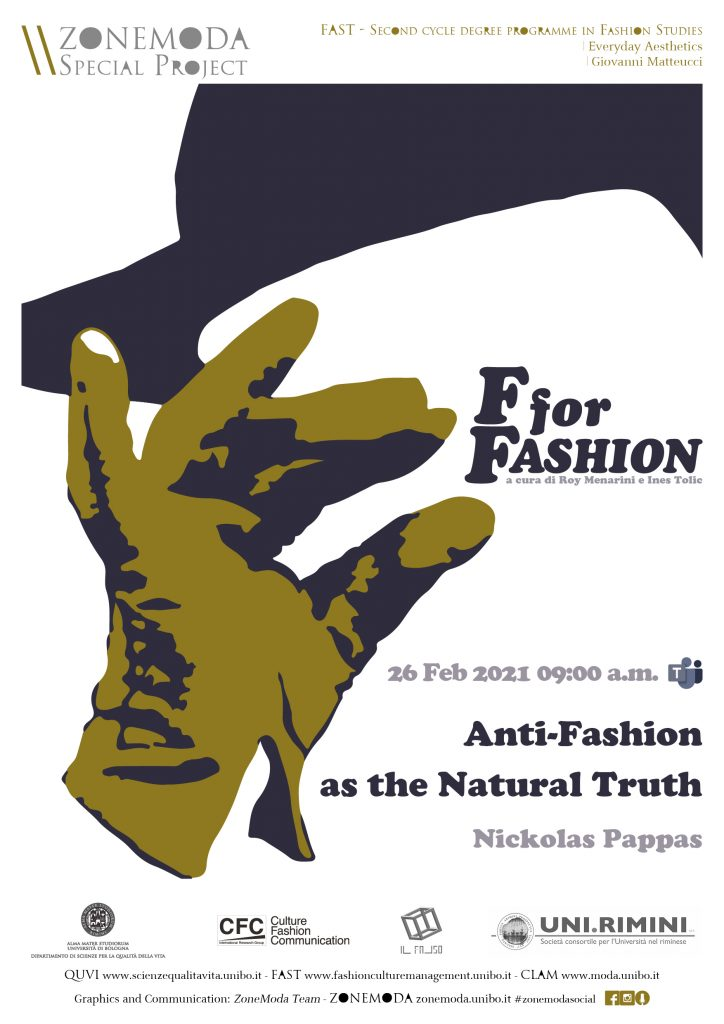 F for Fashion Anti-fashion as the natural truth