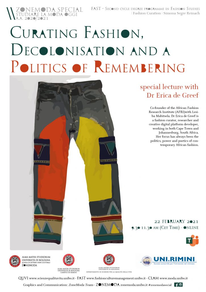 Curating Fashion, Decolonisation and a Politics of Remembering