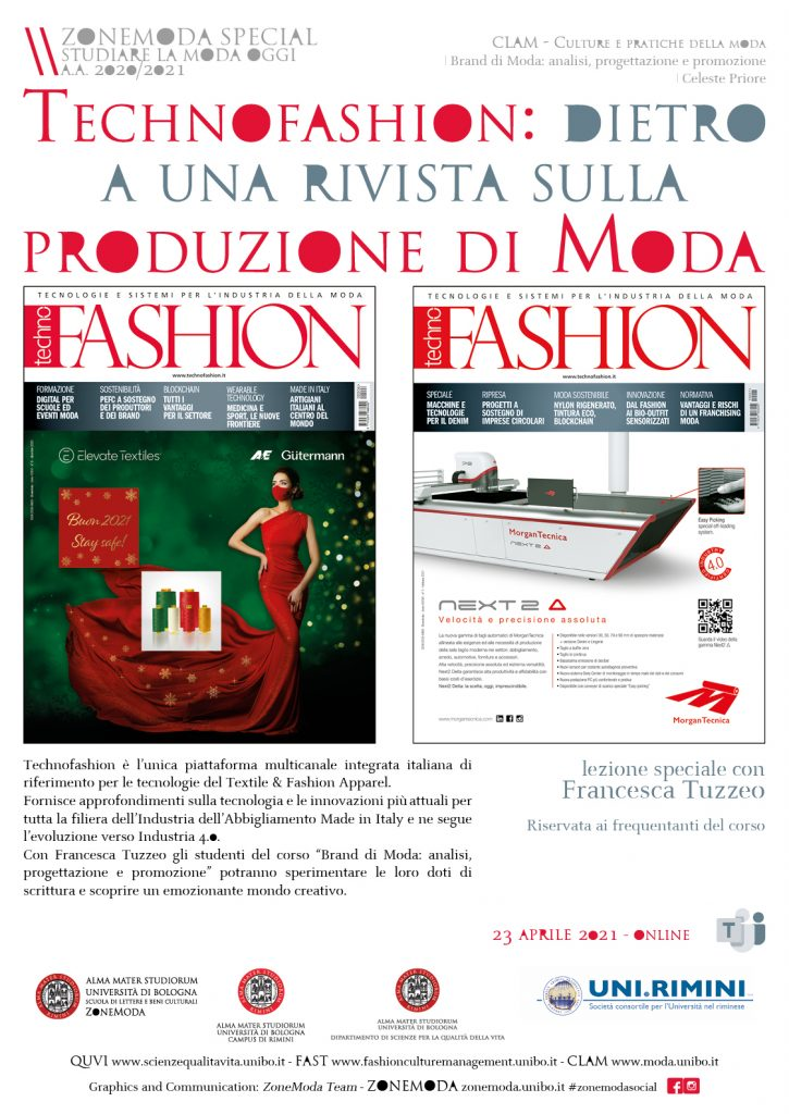 locandina Technofashion Brand di Moda
